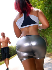 fire hot red head disastrous chick pounded in her..