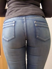 Huge ass gals in jeans