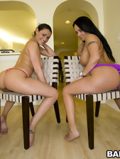 Huge big asses and fat mangos bouncing all over the..