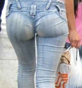 Biggest arse girls in jeans