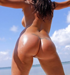 Nice-looking beauties with juicy bums