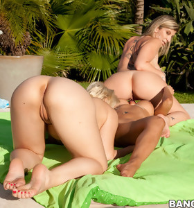 Phat nice butts of Sara Jay, Spicy J and Sarah Vandella. These three worthwhile porn stars naked all. these girls put such a show on for Champ he could hardly keep from spraying his load all over the place.
