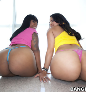 I promise you all are gonna have a fun watching Egypt & Violet Vasquez get their phat booties pounded out by some dick.