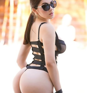 Monster Curves™ Presents Valentina Nappi in Poolside Hottie - Movie scenes And Pictures